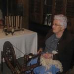 La dame filait la laine