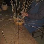 Le vannier faisait des paniers avec de l'osier
